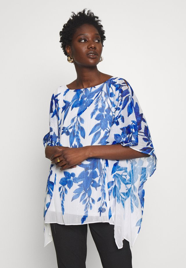 WASHED FLORAL KAFTAN - Camicetta - ivory