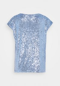 Wallis - SEQUIN TEE - Blouse - blue - 1