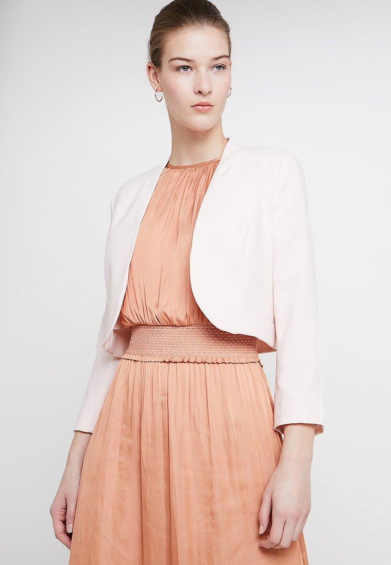 Wallis - CROP BOLERO  - Blazer - blush