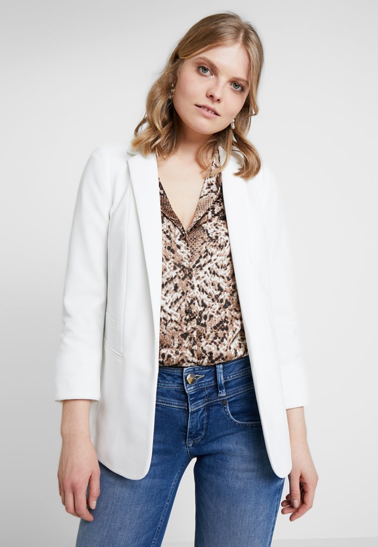 Wallis - TURN BACK JACKET - Blazer - ivory