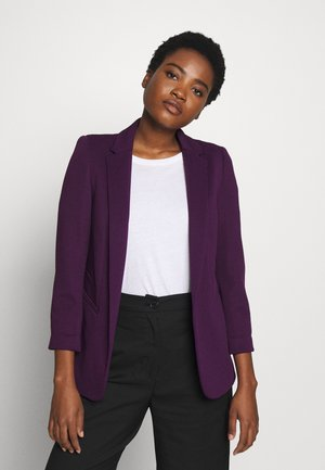 PONTE TURN BACK CUFF - Blazer - burgundy