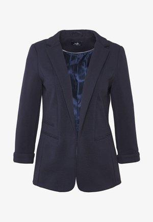 PONTE TURN BACK CUFF - Short coat - navy blue