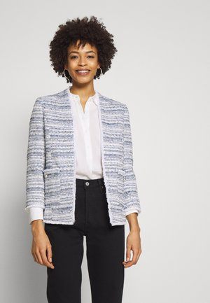 PEARL BUTTON JACKET - Blazer - light blue