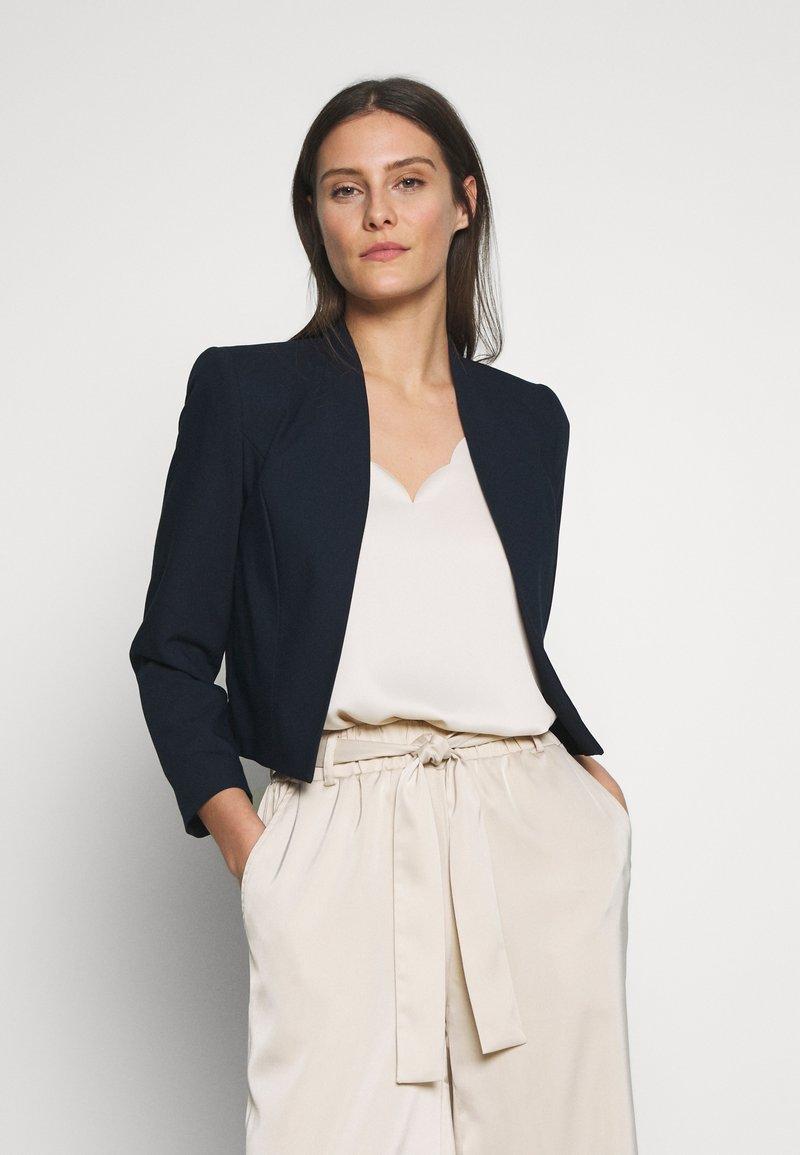 Wallis - CROP BOLERO - Blazer - navy blue