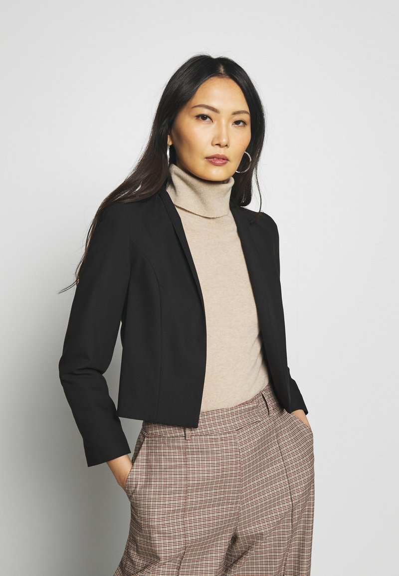 Wallis - CROP BOLERO - Blazer - black