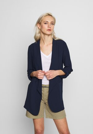 RELAXED COLLAR JACKET - Blazer - ink