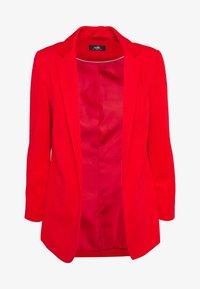 Wallis - PONTE JACKET - Short coat - red - 0