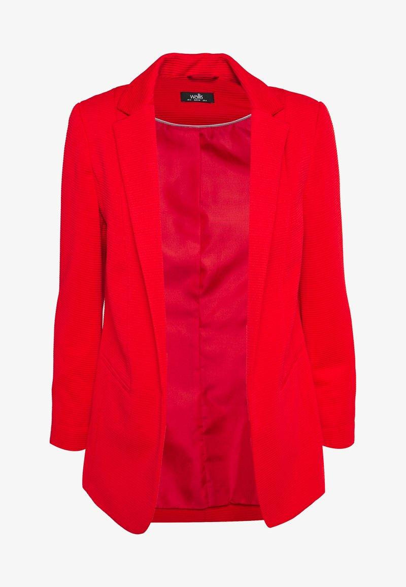 Wallis - PONTE JACKET - Short coat - red