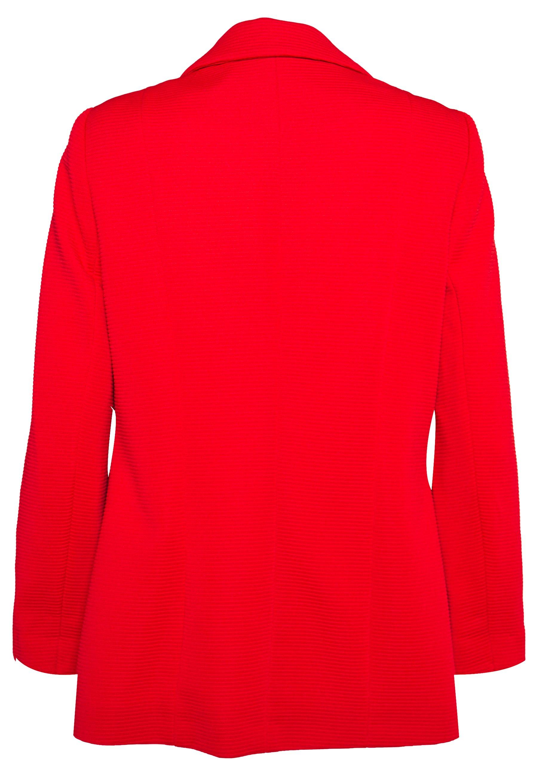 Wallis PONTE JACKET - Krótki płaszcz - red