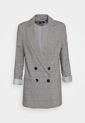 CHECKED - Cappotto corto - grey