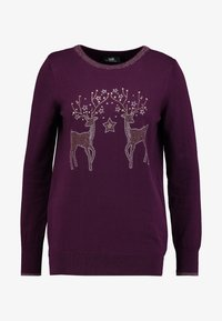 Wallis - Jumper - berry - 3