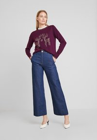Wallis - Jumper - berry - 1