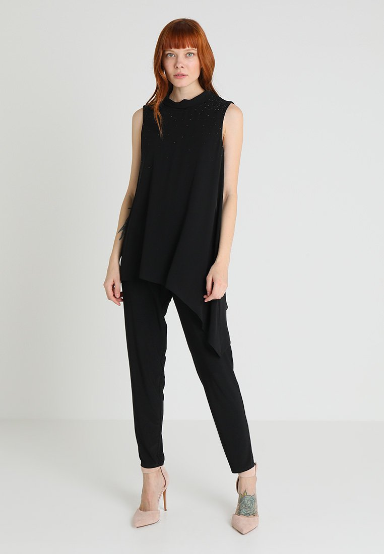 Wallis - COWL OVERLAYER - Jumpsuit - black