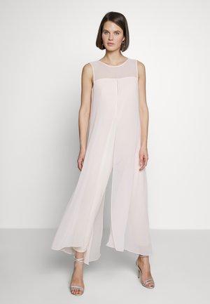 SPLIT FRONT - Tuta jumpsuit - blush