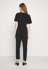 Wallis - PUFF SLEEVE - Tuta jumpsuit - black - 2