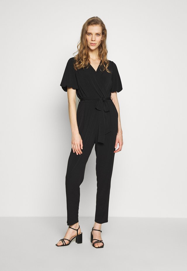 PUFF SLEEVE - Jumpsuit - black