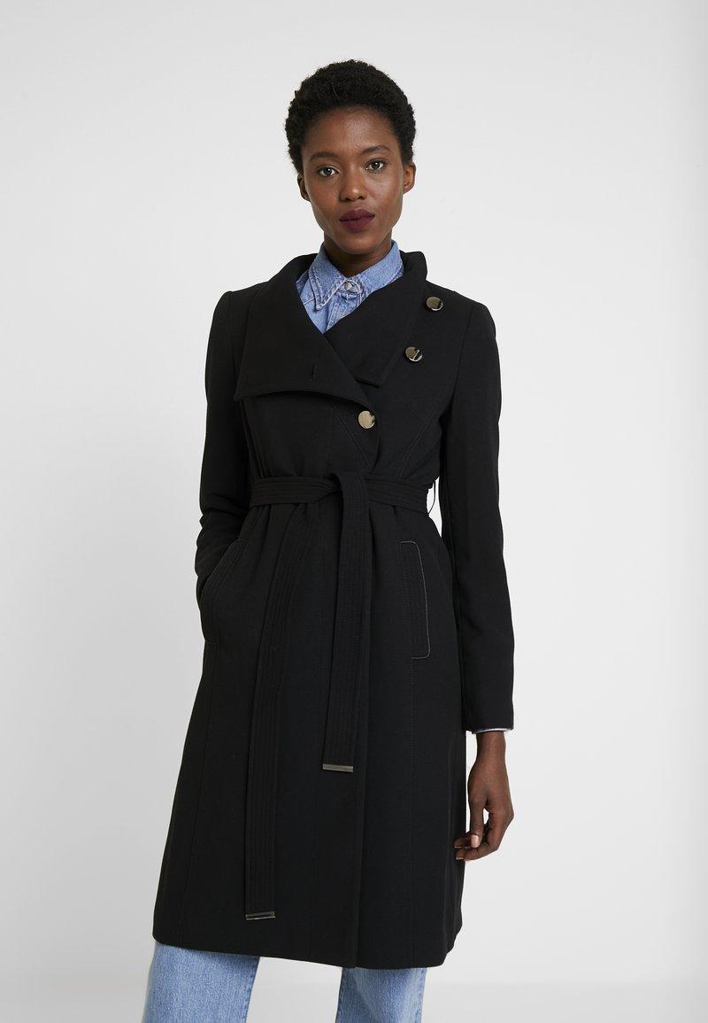 Wallis - Trenchcoat - black