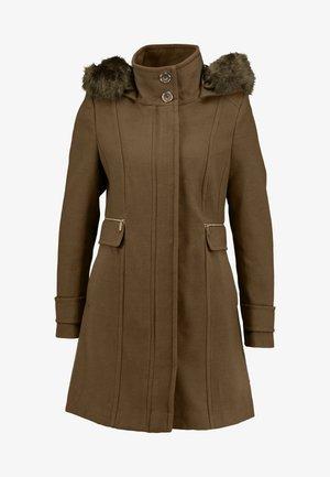 DUFFLE - Short coat - khaki