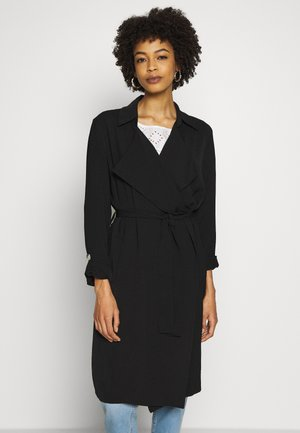 TURNBACK DUSTER - Trenchcoat - black