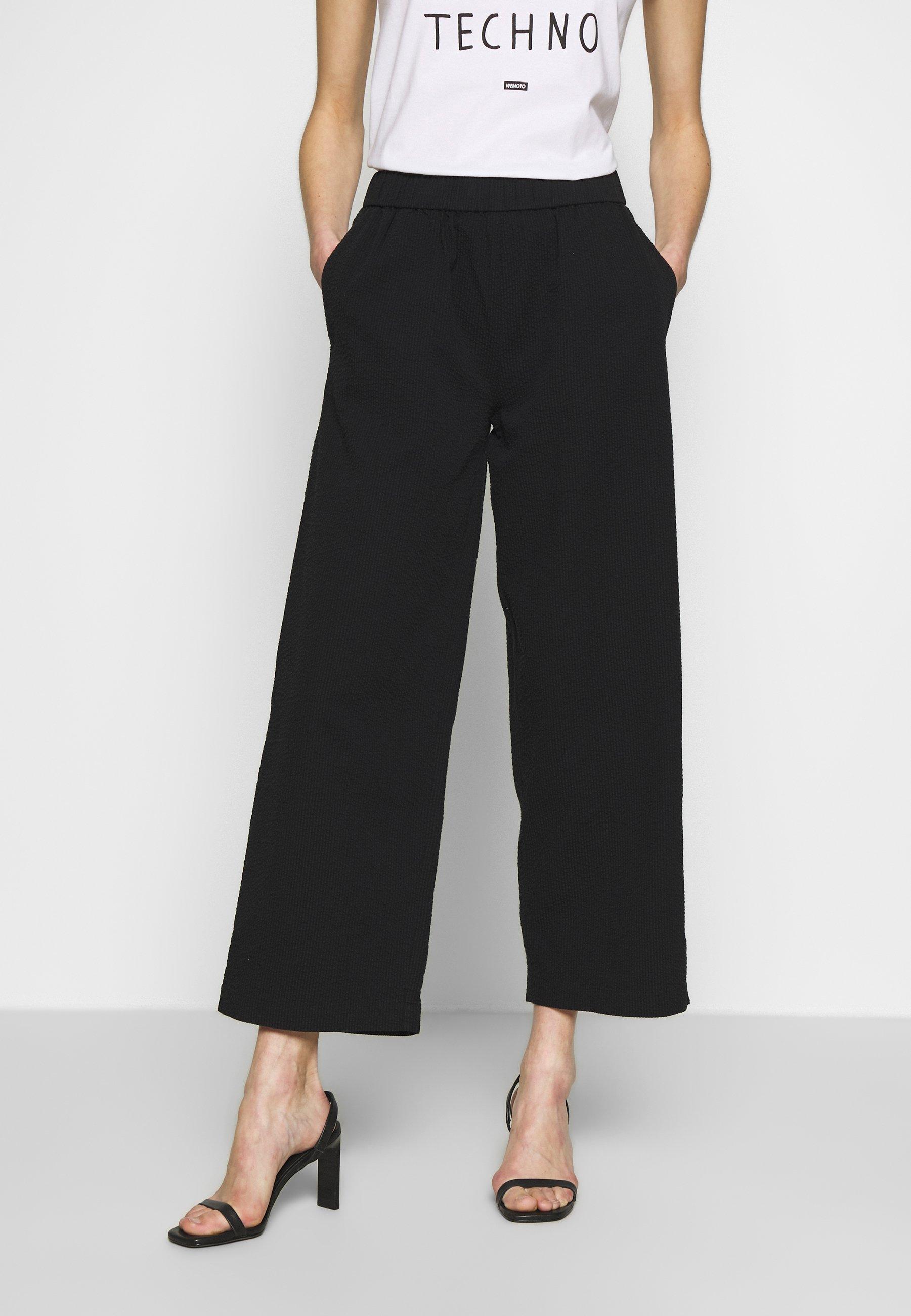 Wemoto NIA - Spodnie materiałowe - black