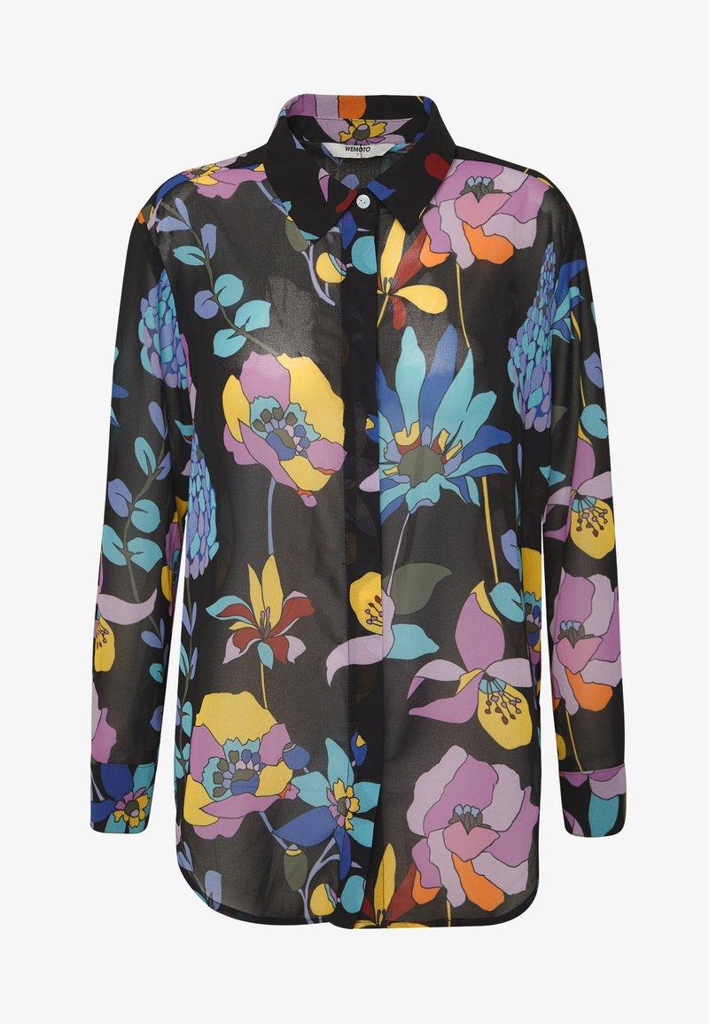 Wemoto AIMEE - Skjorte - black/multi-coloured