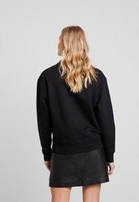 Wemoto - HERA CREW - Sweatshirt - black - 2
