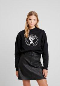 Wemoto - HERA CREW - Sweatshirt - black - 0