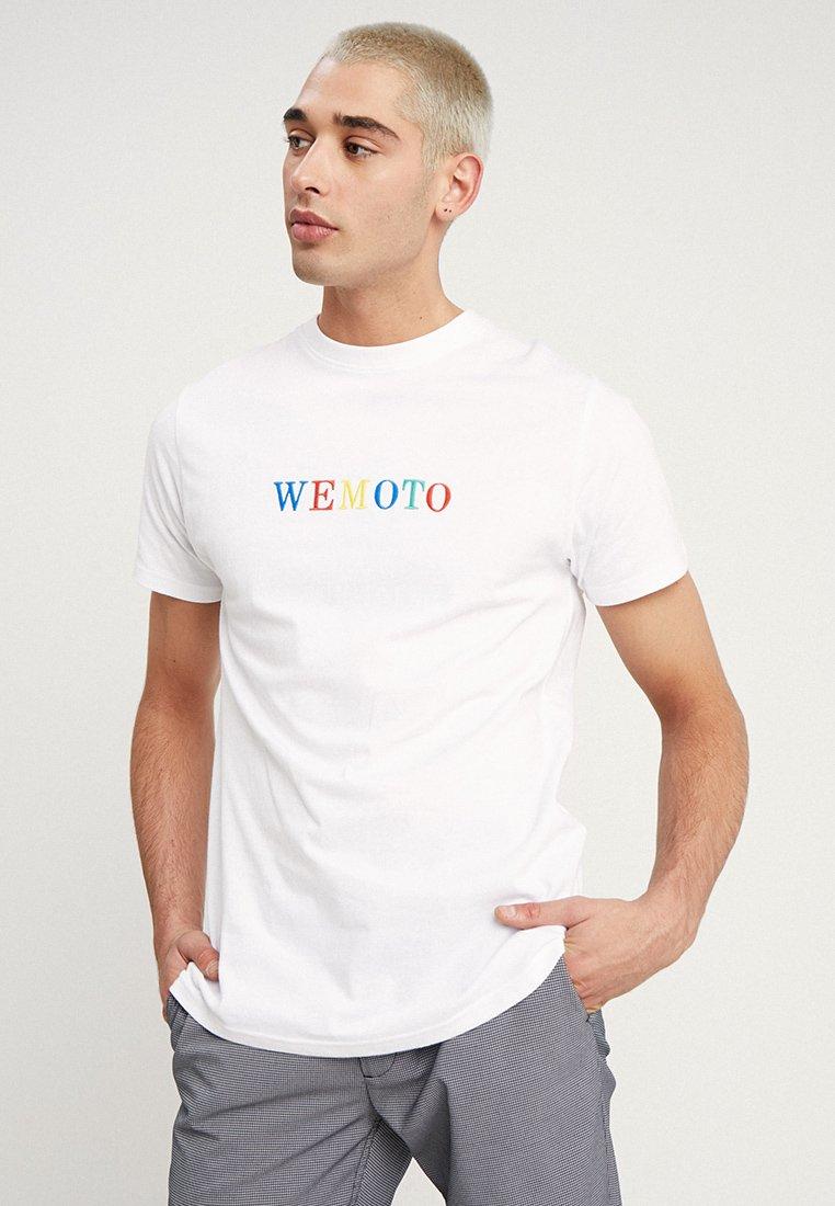 Wemoto - WOOGLE - T-Shirt print - white