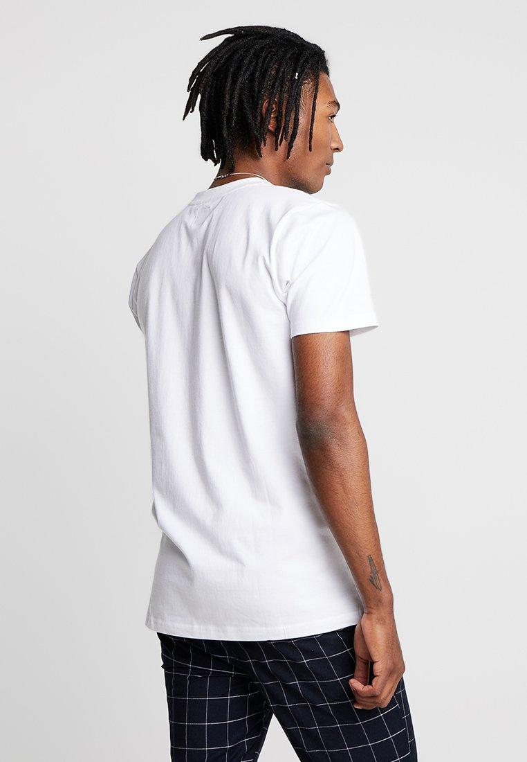 TeeT Mountains White shirt Wemoto Imprimé eD9HYWE2I