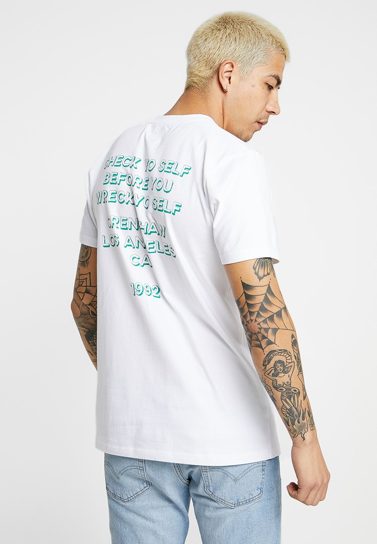 Better White shirt Imprimé Wemoto TeeT OwPXiZkuT