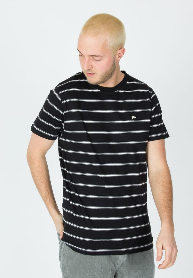 WARREN  - T-shirt imprimé - black