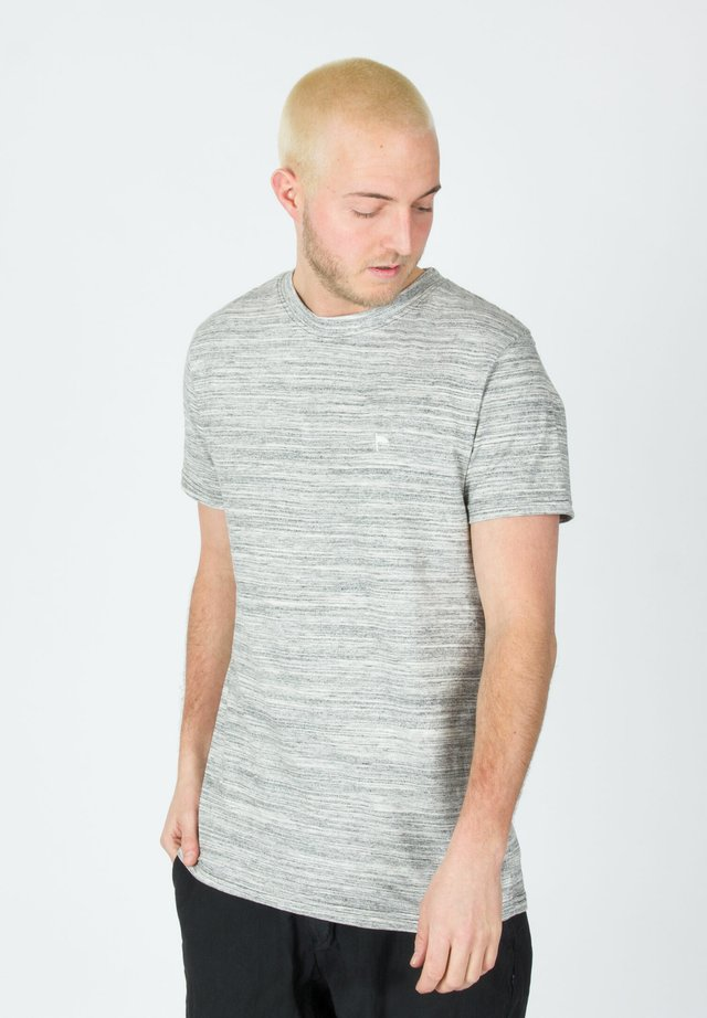 WARREN MEL - Print T-shirt - grey