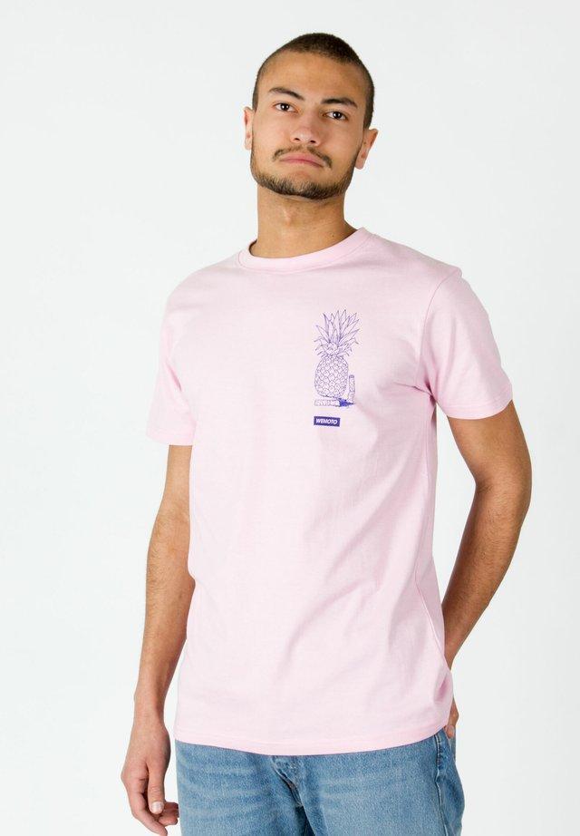 PARROTS - T-shirt imprimé - pink