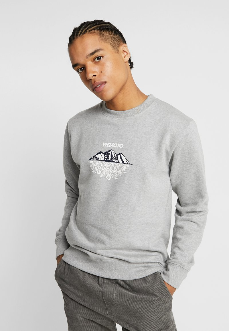 Wemoto - MOUNTAINS CREW - Sweatshirt - heather