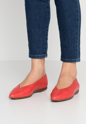 Ballet pumps - rojo