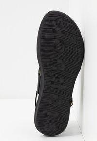 WONDERS - Sandaalit nilkkaremmillä - black - 6