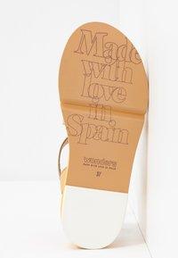 WONDERS - Sandals - golden - 6