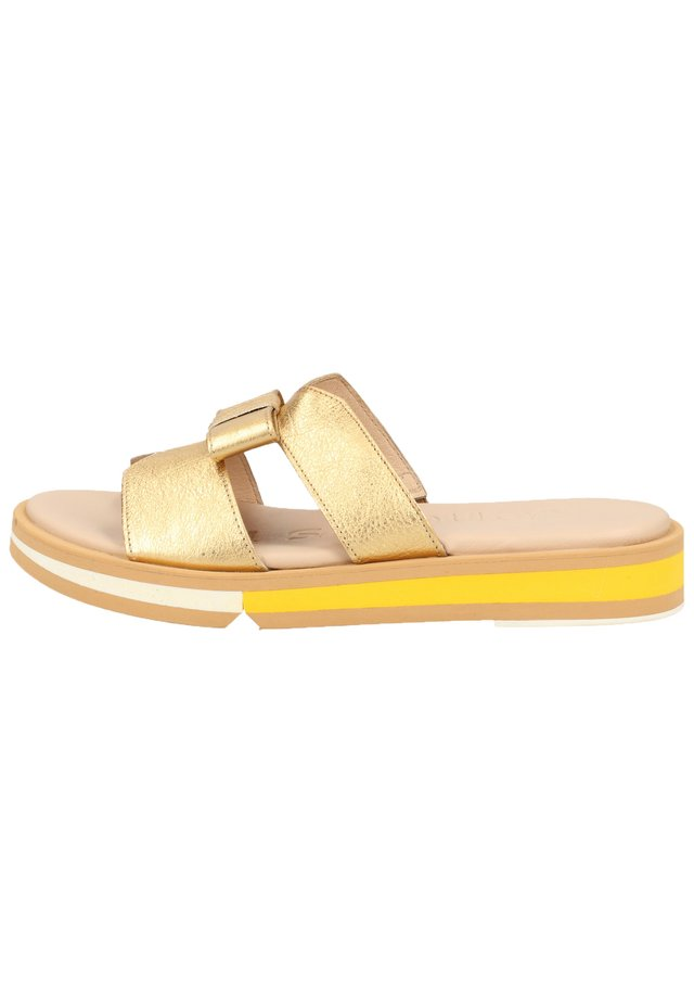 Slippers - wash golden