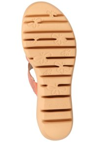 WONDERS - WONDERS PANTOLETTEN - Slippers - wash coral - 4