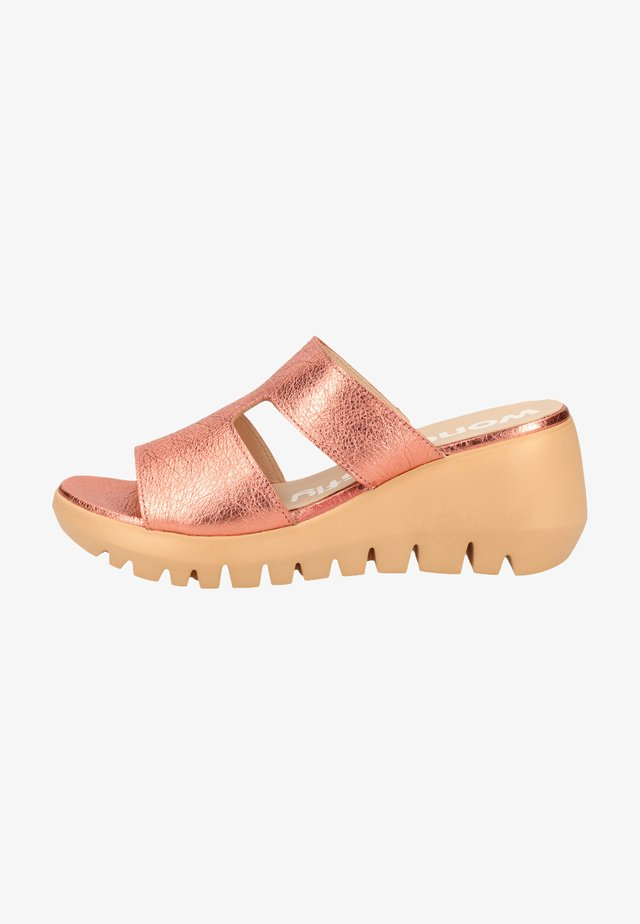 WONDERS PANTOLETTEN - Slippers - wash coral