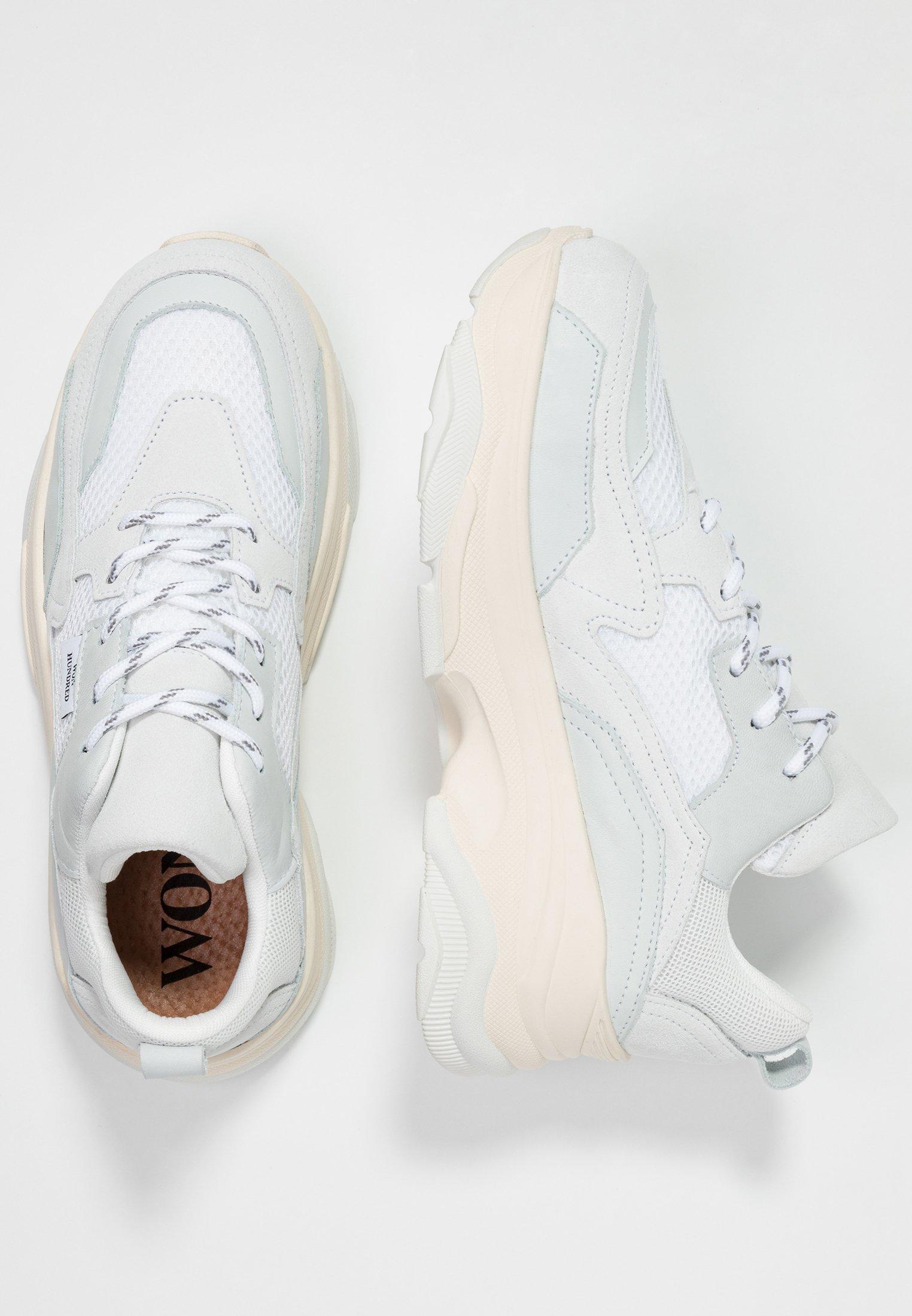 NIKA Sneakers laag white