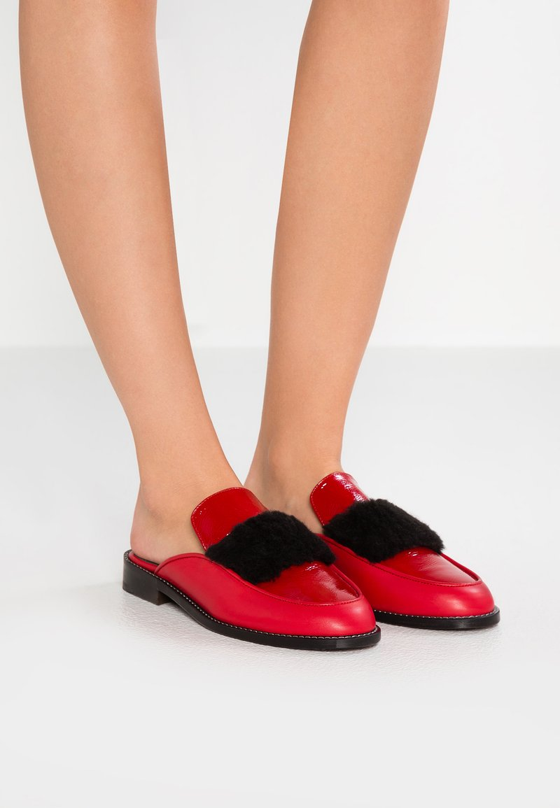 Won Hundred - PIPER - Pantolette flach - red