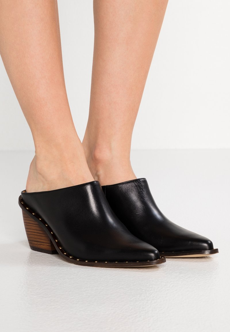 Won Hundred - HADLEY - Heeled mules - black