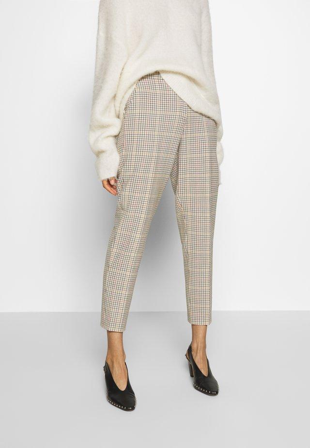 ELISSA - Trousers - beige