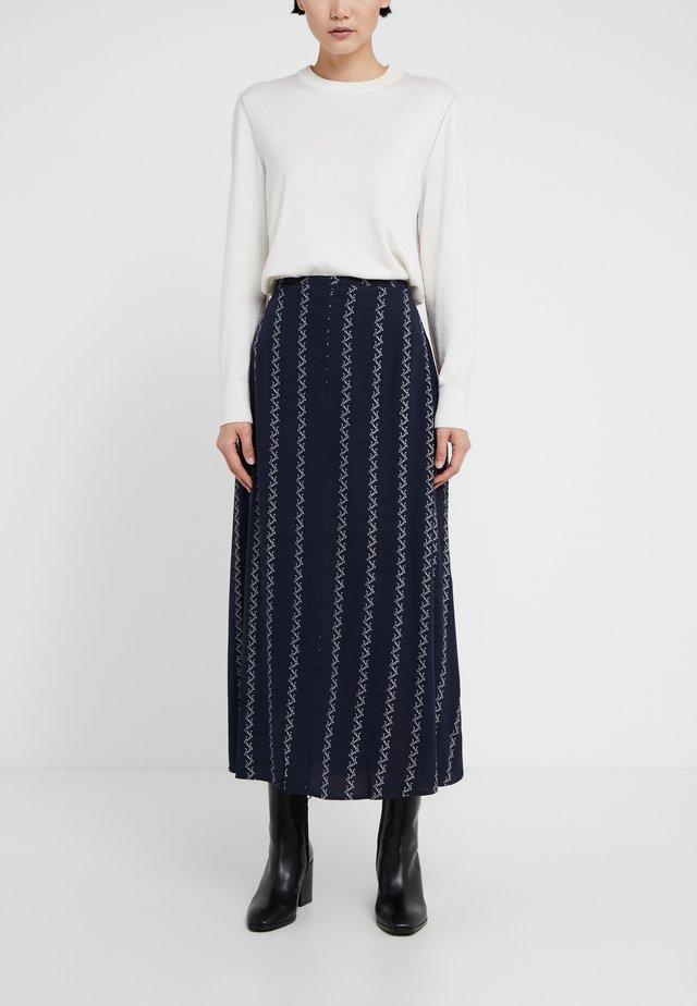 CAROL - Maxi sukně - dark blue