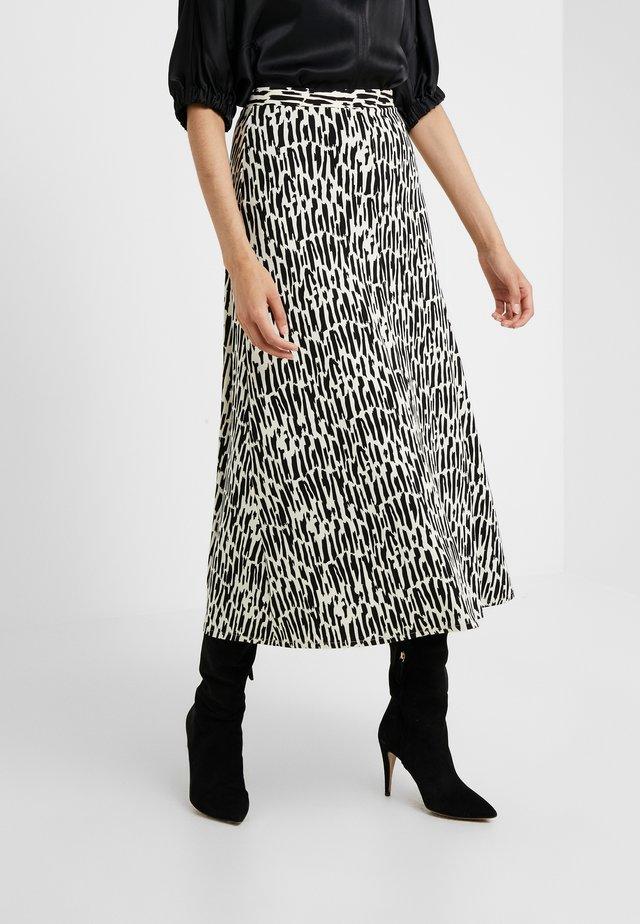 CAROL  - A-line skirt - seedpearl
