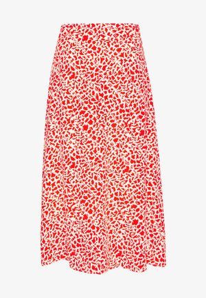 CAROL - Áčková sukně - poinciana