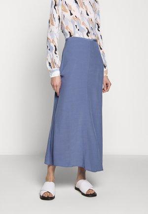 CAROL - Maxi sukně - tempest blue