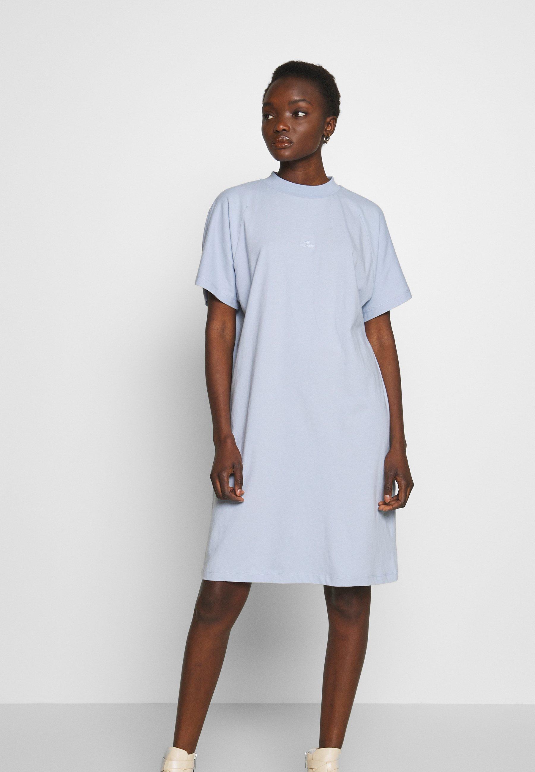 Won Hundred BROOKLYN DRESS - Jerseyklänning - zen blue