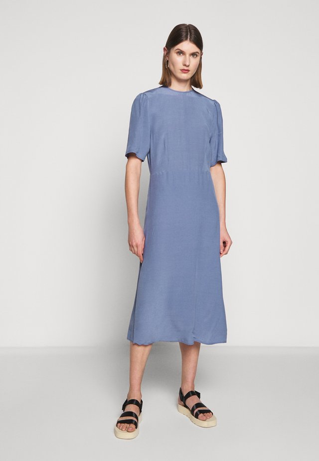 JOSELYN - Day dress - tempest blue